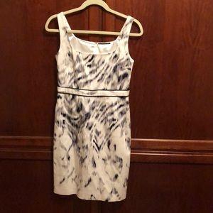 Elie Tahari black and white dress Sz 2